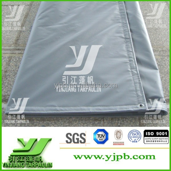 waterproof Durable Waterproof 18oz PVC Tarpaulin/PVC Vinyl Tarps