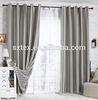 Alibaba china For home-use Flexible plain livingroom curtain