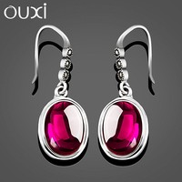 OUXI Earrings jewellery,fashion earring designs new model earrings,new model earrings G20008-1