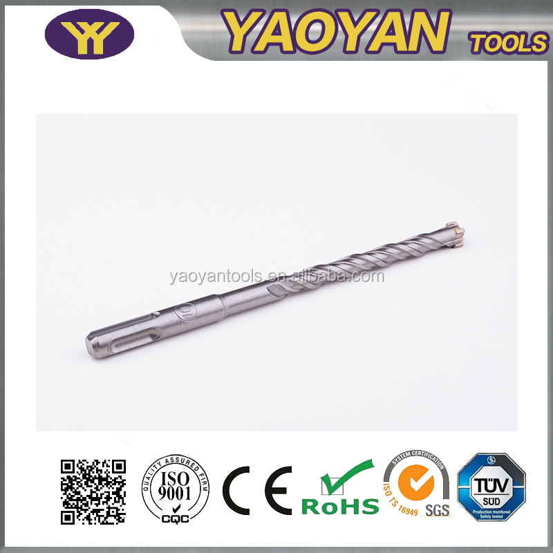 High quality manufacturer sds hammer drill,hammer concrete drilling ,SDS plus drill bit