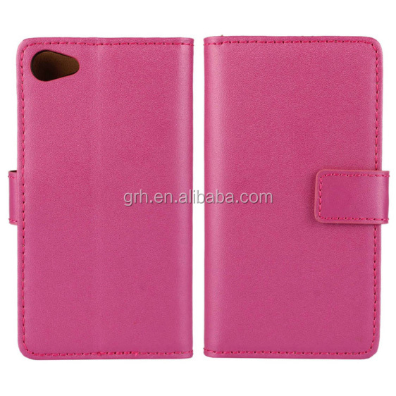 geunine leather case #9 for Sony Xperia Z5 Compact Mini