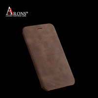 Flip folio standing cover for iphone 6 genuine leather case for iphone 6 wholesale