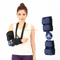 Orthopedic Elbow Splint - elbow brace support with Adjustable ROM Hinge