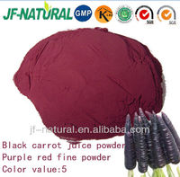 Black carrot juice powder red color water soluble