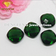 Wuzhou Gems Price Synthetic Emerald Color Glass Stone