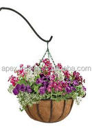 how to plant a hanging basket of flowers