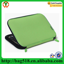Wholesale green neoprence laptop sleeve case
