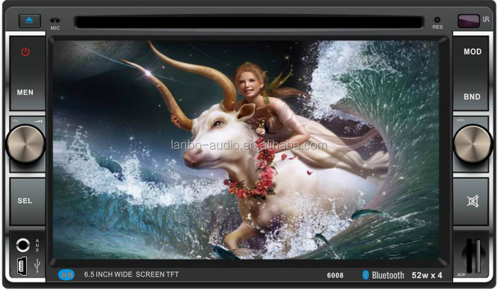 Rmvb mkv car dvd player with digital panel:HD 800*RGB*480