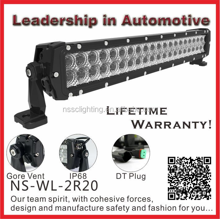 Industry-leading Dual Row 4 -50 inch Lifetime Warranty CREE Off Road Waterproof LED Light Bar