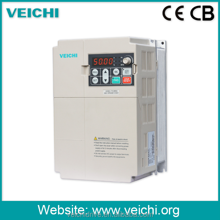 Variable Frequency Drive 3 Phase Inverter/ 220V to 380V AC Motor Speed Controller