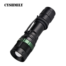 CYSHMILY Tactical IP66 Rating Q5 Torch,Cool Led Flashlights Torches Led Aluminum Flashlight