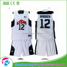 2017 Hot Selling New 2016 Latest Basketball Jersey Design