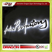 Factory price LED illuminated advertising sign letter for USA