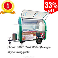multi-function mobile pizza van for sale