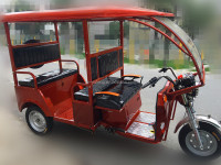 201 5YF 3 Wheeler Electric Passenger Rickshaw / Hot Sale Battery Tricycle