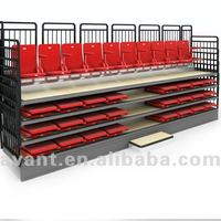 Automatic Telescopic Arena Retractable Seating Bleacher