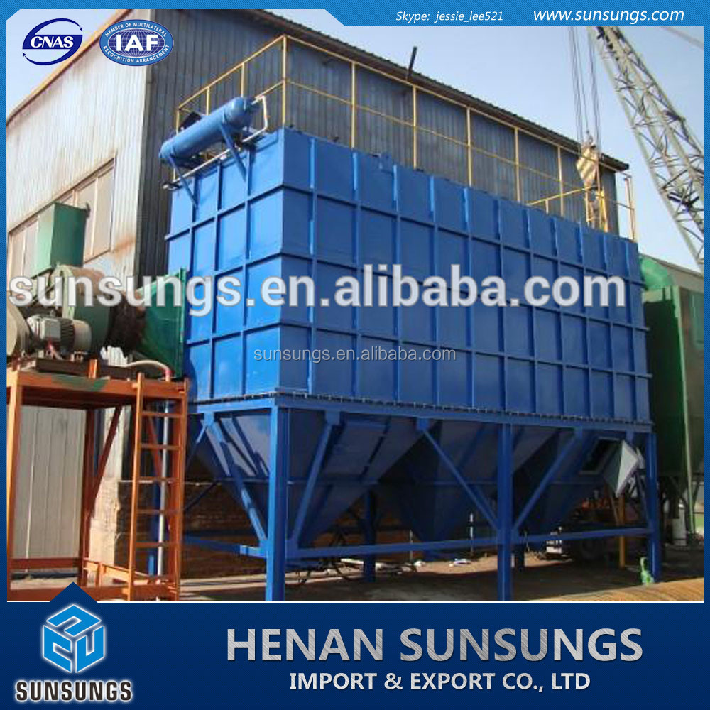 Industrial exhaust gas extraction system/pulse dust removal collector for sale