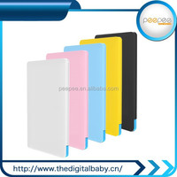 fashionable appearance back up power 2500mah