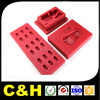 high quality plastic machining parts manufacturer with colors