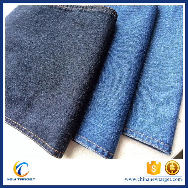 cotton denim fabric thin and light wholesale los angeles