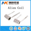 Alibaba China SS316L Staggered Fused Clapton coils alien clapton wire ss