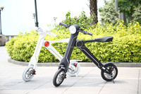 fashionable design bicycle smart folding bike electric bicycle 18KG adult bicycle