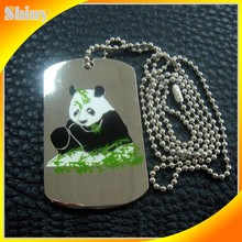 Easy to carry quality OEM metal gift dog tag for customer