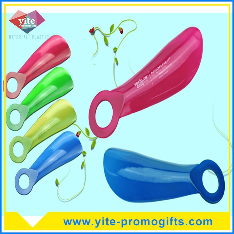Hot sale hotel plastic shoe horn