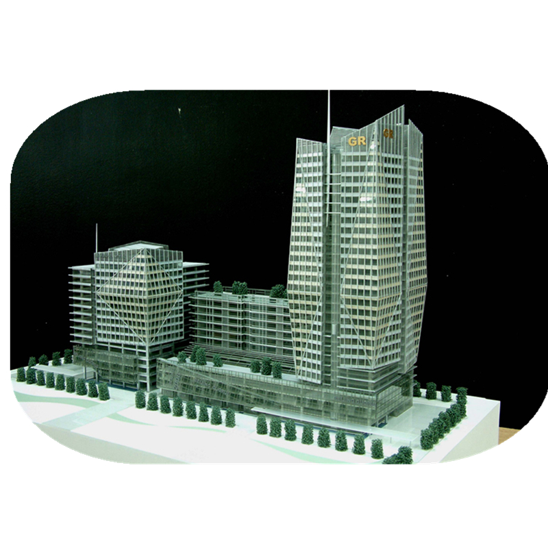 2017 Building scale Model in Architectural models for project