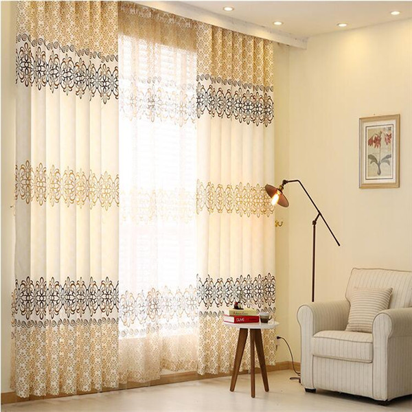 Manufacturer directly thick curtains fabric hotel curtains and drapes