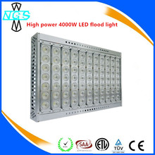 New Goods 4000w LED Flood Light Outdoor light for Tunnel Exhibition hall Logistics Park