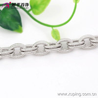 73949-2016 China Xuping Wholesale Charms Generous Woman Brass Bracelets With Rhodium Plated