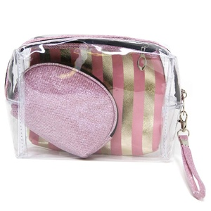 Portable PVC Makeup Case Cosmetic Bag Pouch Travel Organizer