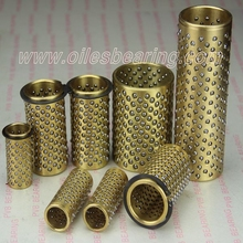 aluminium presicion ball cage retainers,guide bearing ball liner cages, copper FZH ball retainer