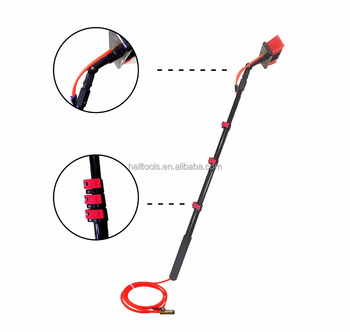 Water Fed Adjustable Telescopic Pole With Cleaning Brush For Window Cleaning