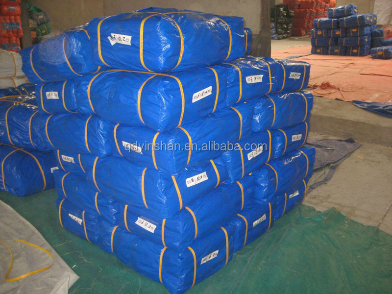 Poly Woven Tarp Plastic Material PE Tarpaulin Waterproof Insulated Tarps Fabric