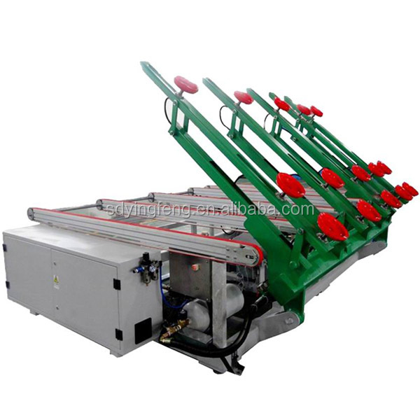 JF-2520 CNC used Glass loading table with CE for glass double edger