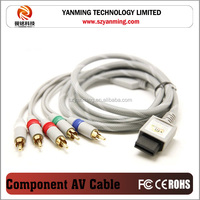 Component AV Cable for Nintendo Wii Wii U to TV HDTV Audio Video