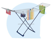 548-19 outdoor clothes drying racks, foldable cloth dryer rack with basket household
