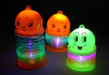 5.5cm Kids magic rainbow spring with light for sale