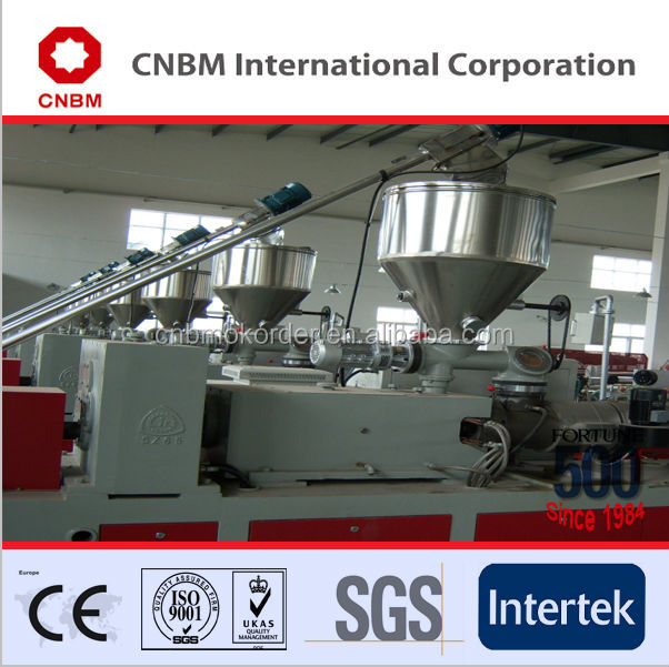 2014 high quality wpc profile production line