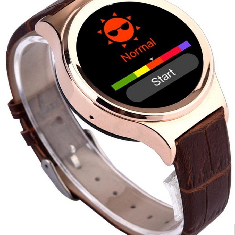 Smart Watch T3 Round Wifi Android Smartwatch Dual Sim with Bluetooth Pedometer Sleep Monitor TF Card Slot CE Rohs Certification