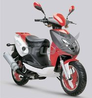4 Stoke 150cc Gas Motor Scooter with EPA MS1518EPA