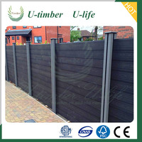 High Quality Wood Plastic Composite WPC Garden Fence Panels
