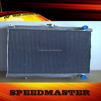 3 rows aluminum radiator core suppliers for NISSA N SKYLIN E GT-R R34 MT