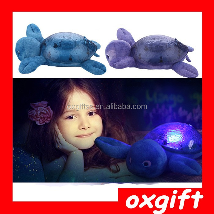 OXGIFT Made in China Alibaba wholesale Manufacture Cartoon Animal Pillow Star Projector Light
