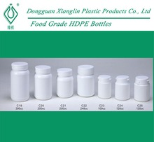 Wide Mouth Tamper Proof Plastic HDPE Pill / Capsule Container