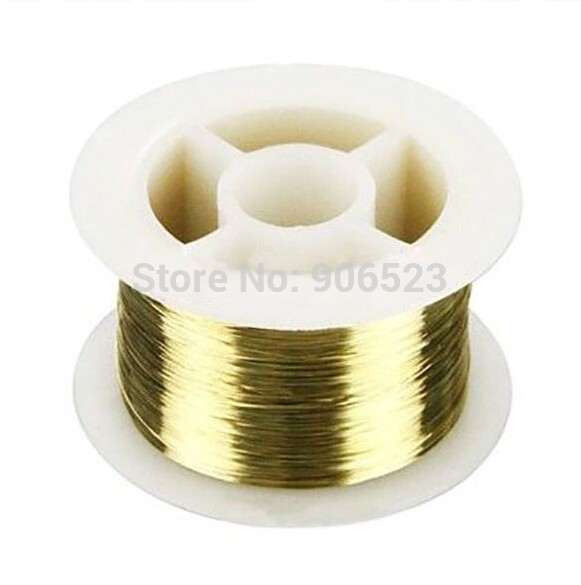 New 200M Golden Molybdenum Wire Cutting lines/line refurbish LCD separator for iphone 4 4S 5 for samsung glass repair fix