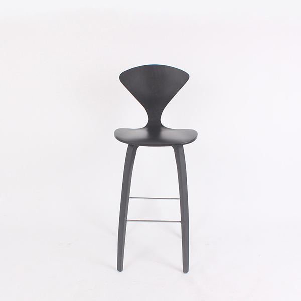 CH218 Norman Cherner Wooden Bar Stool