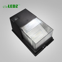 Deledz outdoor lighting fixtures 5 years warranty IP65 waterproof UL approved 18w 28w photocell LED Slim Wall Packs